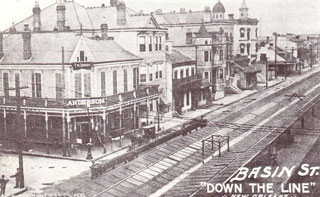 Basin Street Down the Line